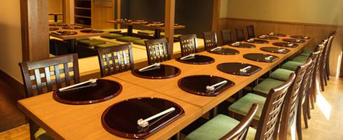 2階 宴会個室テーブル席16名様