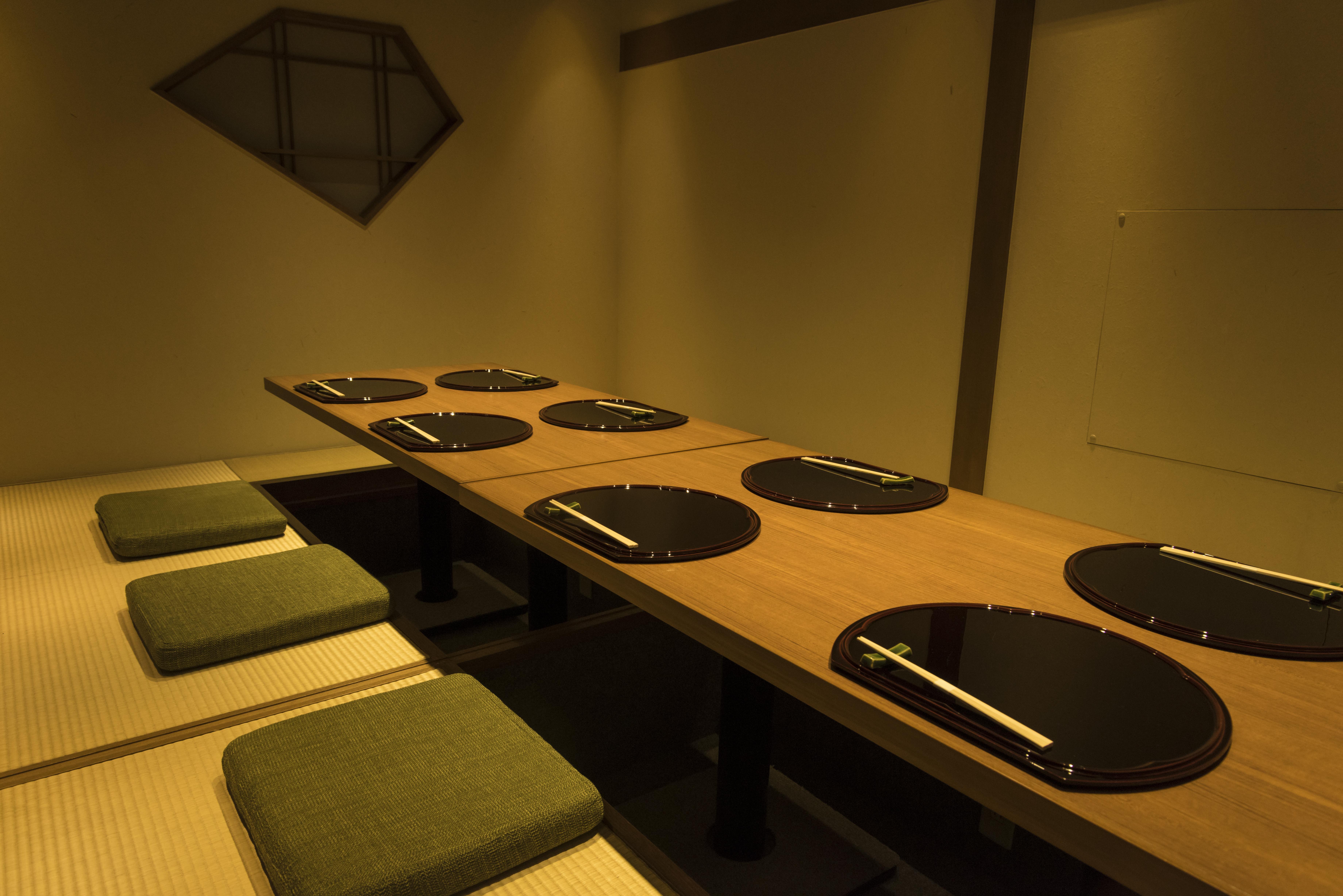 個室4名部屋